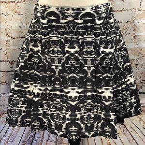 J. Crew Blurred Ikat Skirt